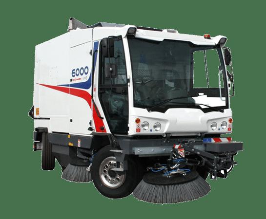 Barredora Dulevo 6000 Combi