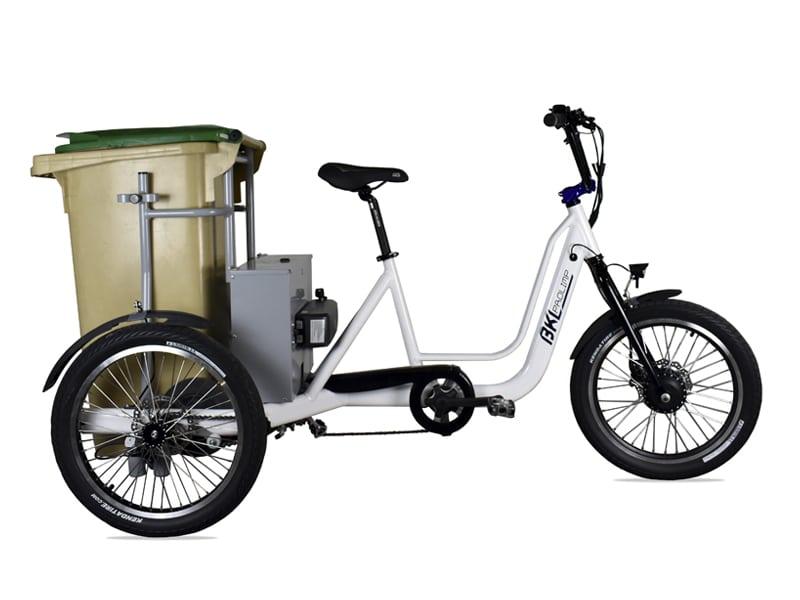 NouColors Triciclo eléctrico BKL Cube