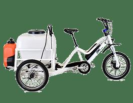 Triciclo eléctrico BKL Desinfección