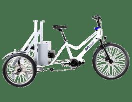 Triciclo eléctrico BKL Cube 240