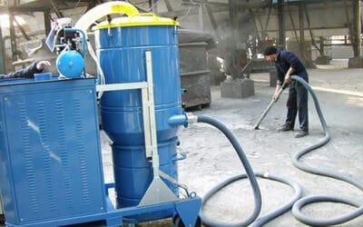 Aspiradores industriales y aspiración centralizada para el polvo en azulejeras y cementeras