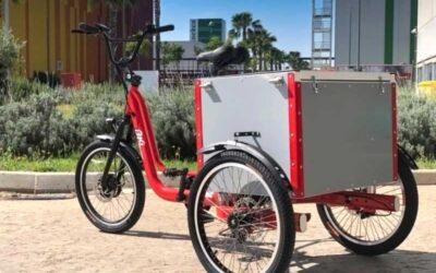 Triciclos eléctricos de carga BKL, una solución de movilidad sostenible dentro de ciudades o centros logísticos