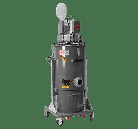 Aspirador industrial ZFR EL compacto