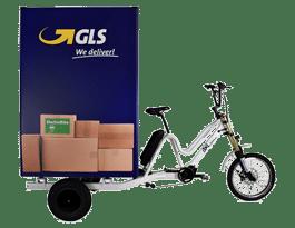 Triciclo eléctrico de carga BKL Box 1500